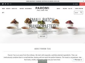 Paromi Tea Coupon